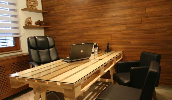 DIY Pallet Office