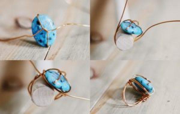 DIY Turquoise Ring