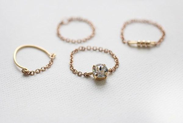 DIY Little Girly Rings
