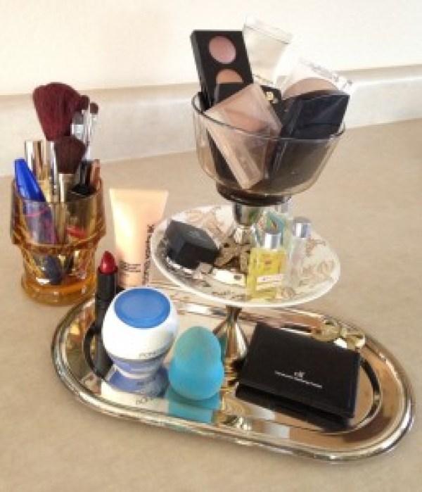 DIY Girly Make Up Organizer