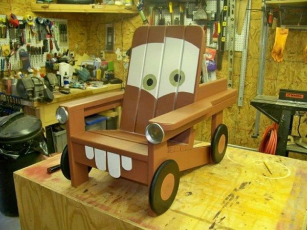 DIY The Cars Chair