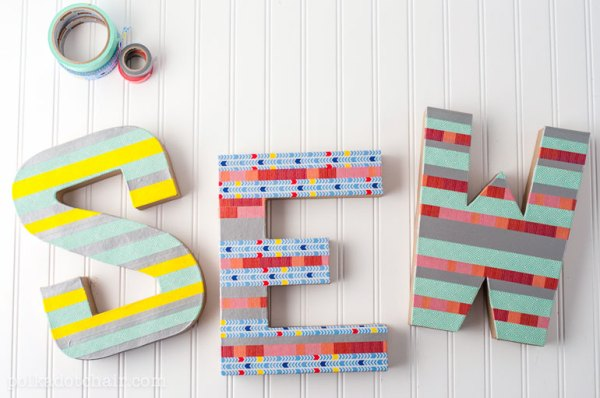 DIY Colourful Words