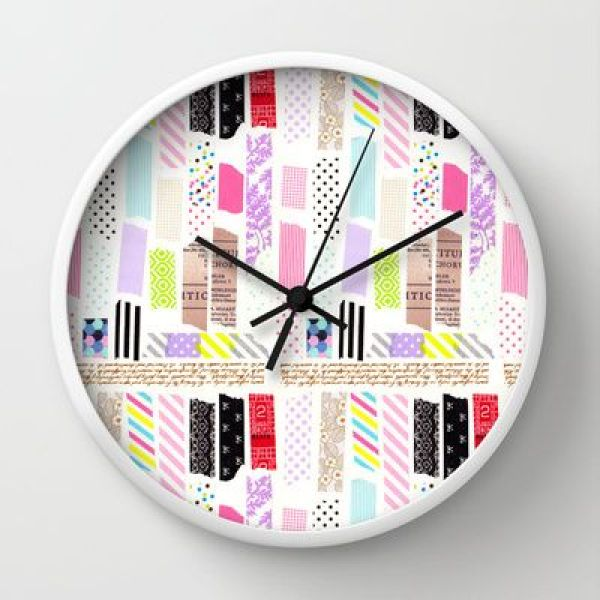 DIY Tape Clock Ideas