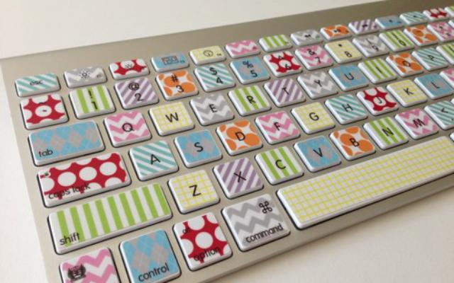 DIY Colourful Keyboard