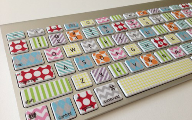 DIY Colourful Keyboard