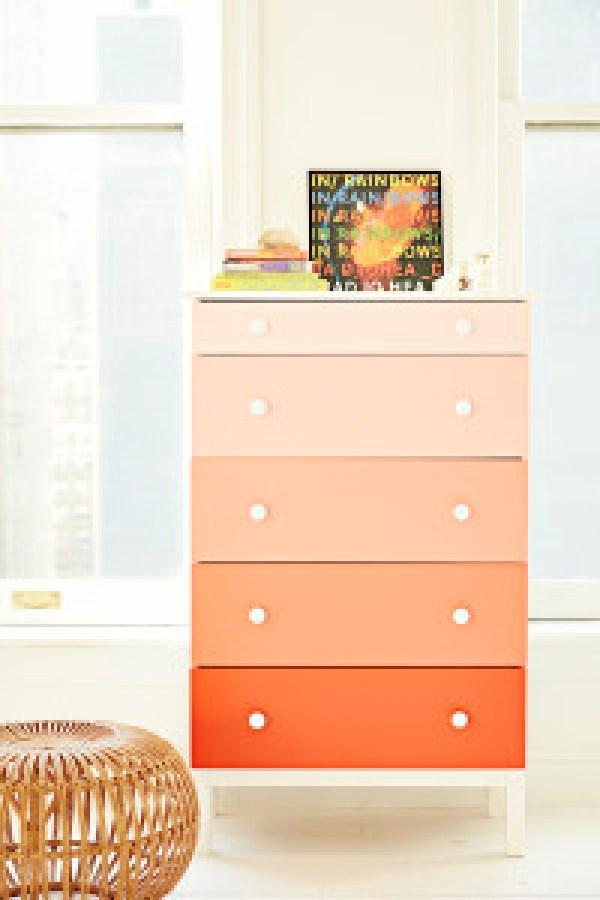 DIY Orange Modern Room