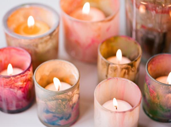 DIY Bright Candles