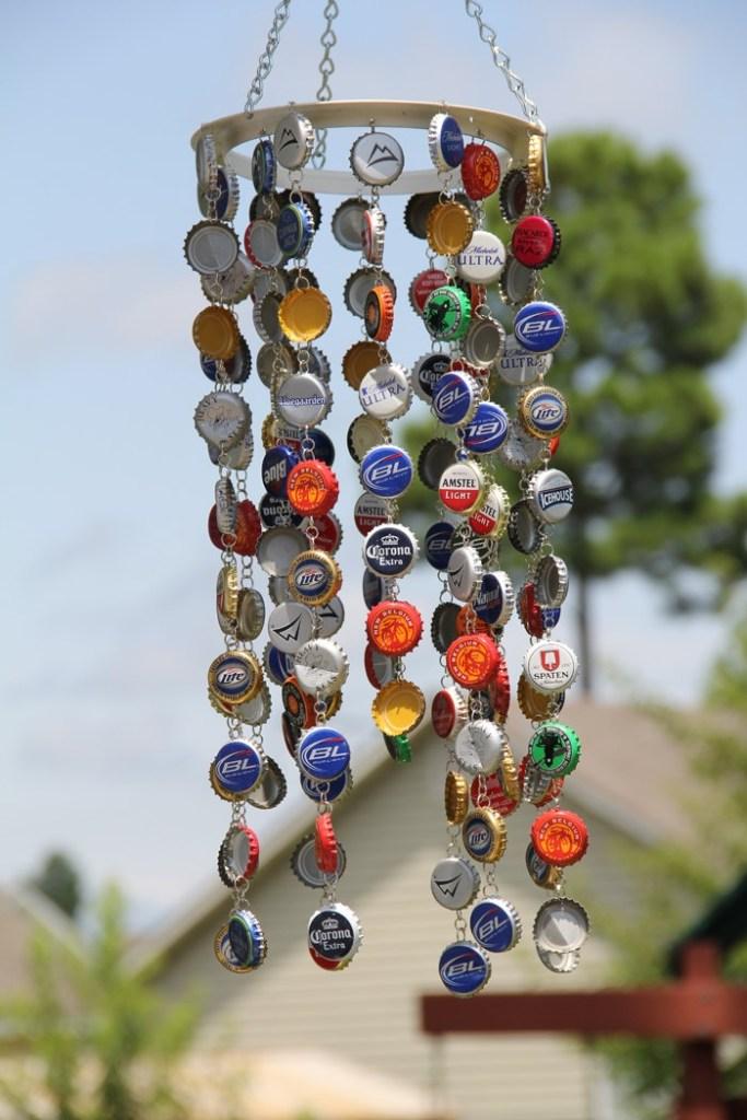 Bottle-Cap-Wind-Chime