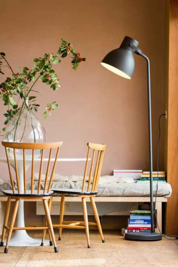 DIY rustic wood chair