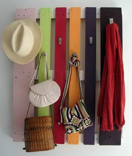 wall rack.