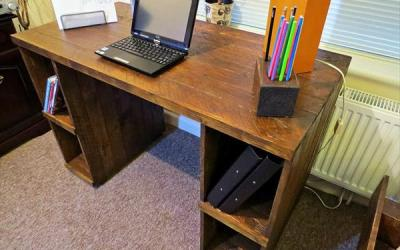 Innovative Pallet Computer Desks