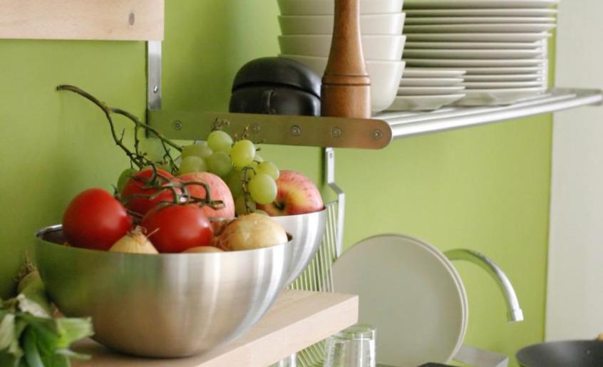 how to organize kitchen
