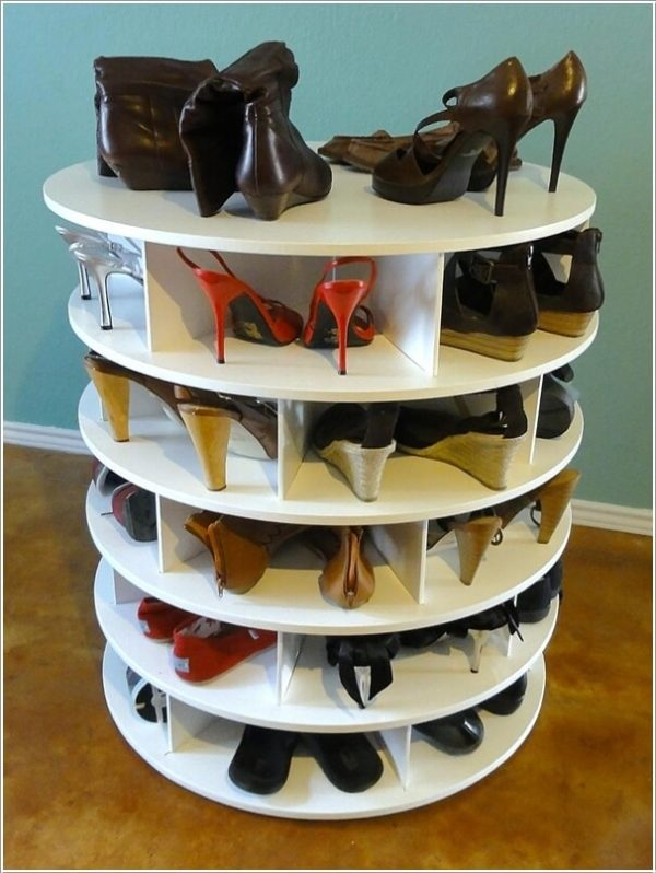 wooden storage rack for shoes