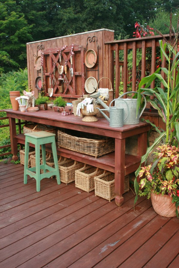 multi purpose potting bench