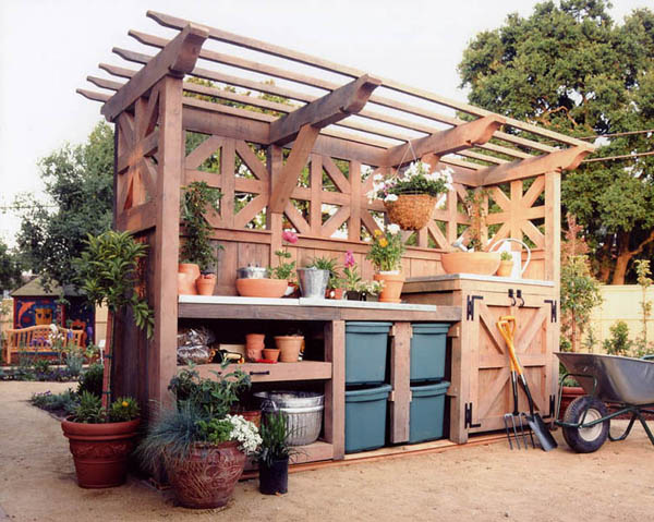 Amazing Potting Bench Ideas Easy Diy And Crafts