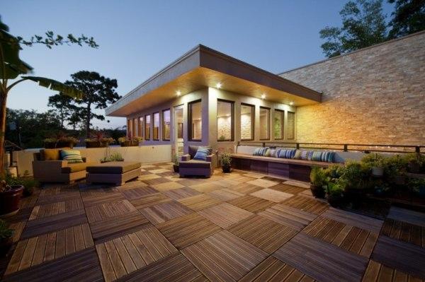 space saving terrace gardens