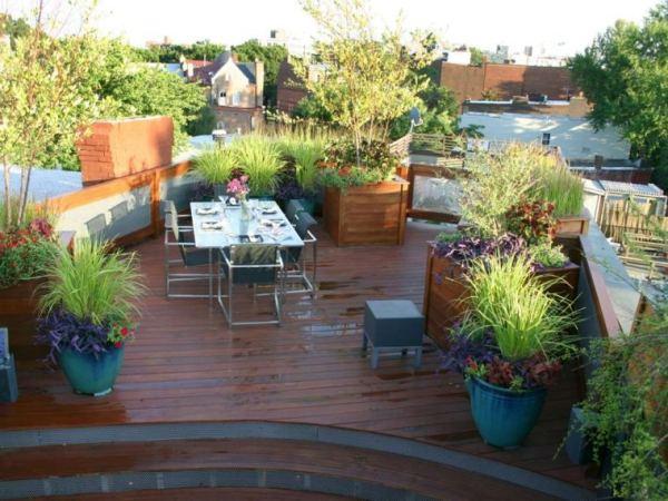 Diy fabulous terrace gardens easy diy and crafts for Garden idea ht 450