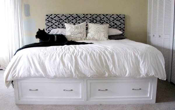 DIY wooden bed designs