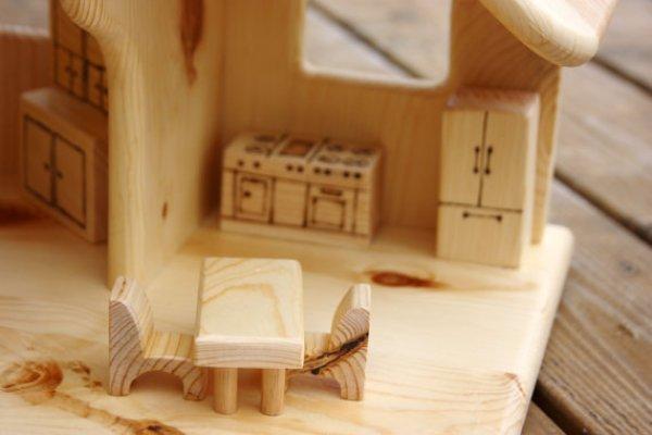 DIY mini wood house