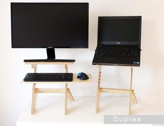 DIY laptop desk