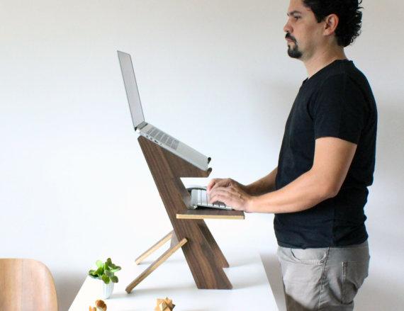 rustic laptop desk ideas