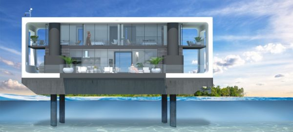 Arkup floating home