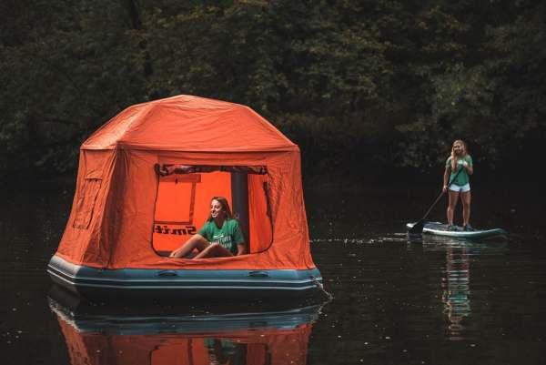 raft tent camper