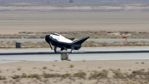 dream chaser first test flight