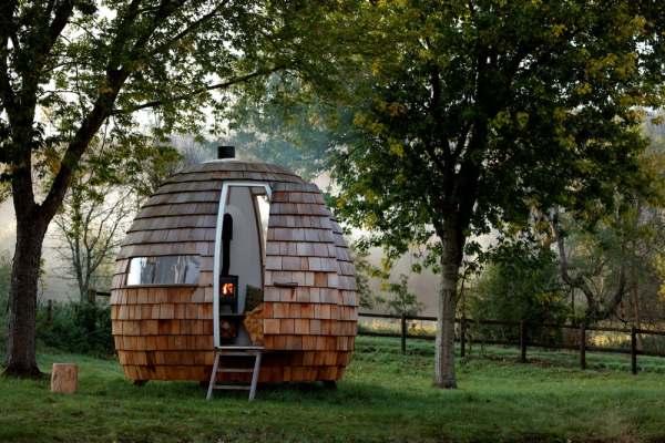 outdoor pod