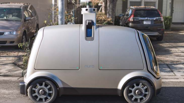 autonomous delivery vehicles
