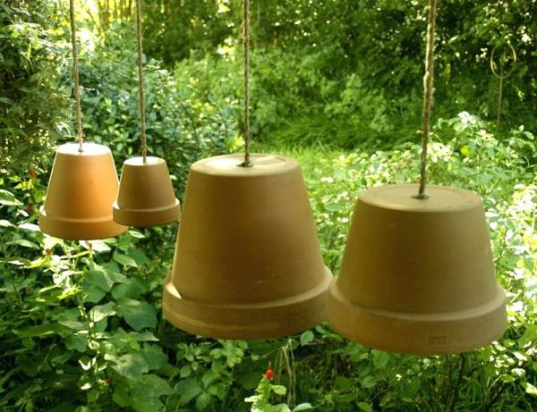 Do it Yourself Hanging Clay Pots