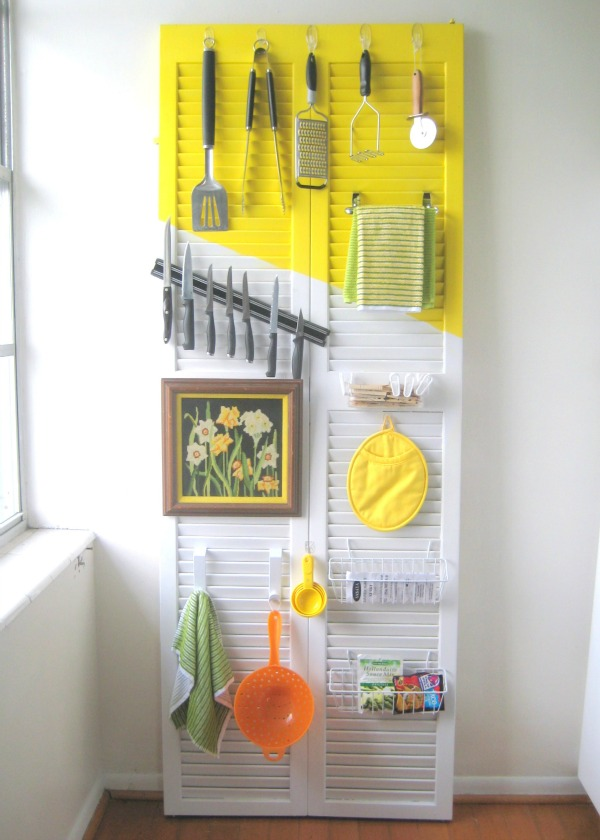 DIY kitchen utensil holder