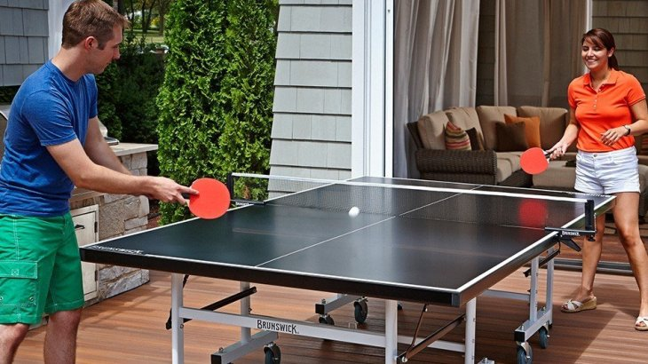 indoor outdoor ping pong table