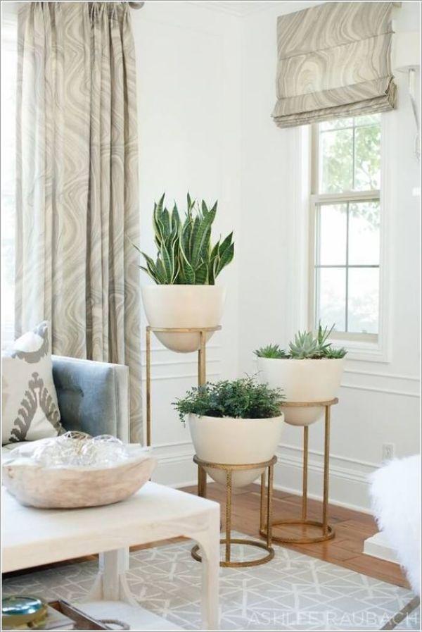 space saving mini planters