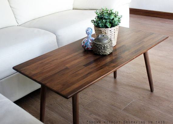 Easy To Build Coffee Table.Engraved Walnut Coffee Table Diy Ideas Easy Diy And Crafts