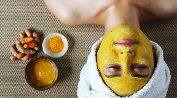 turmeric face mask