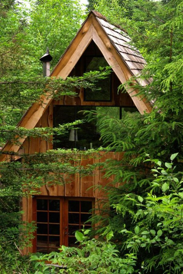 outdoor wood shed ideas