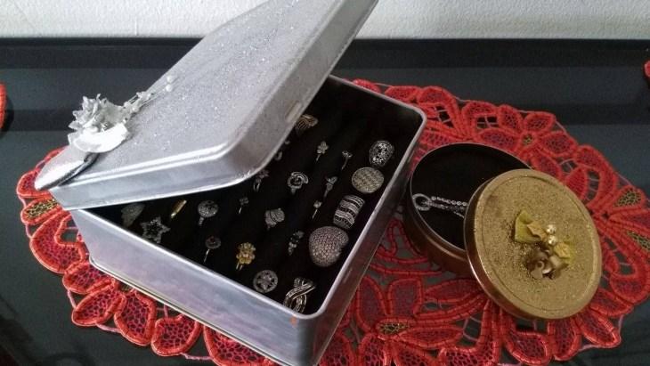 DIY Metal Jewelry Box