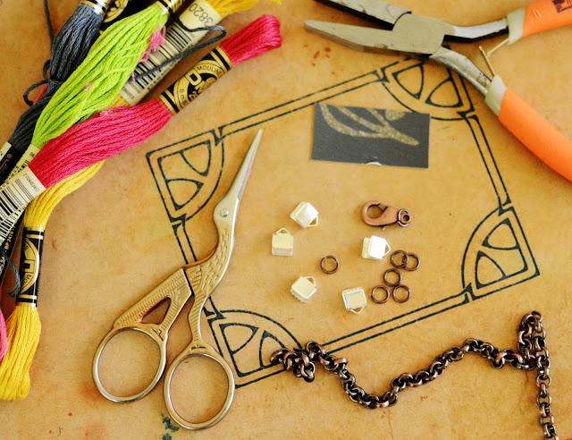 Tiny Tassel Bracelet DIY Craft