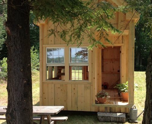 DIY Wood Cabin