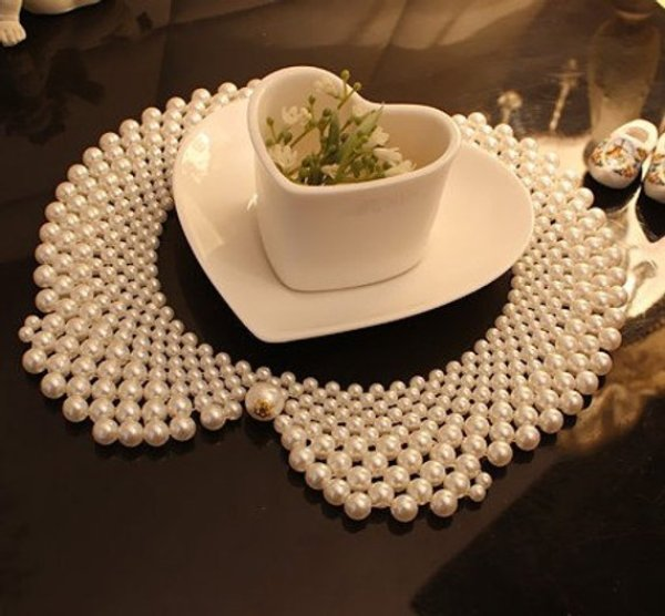 diy pearl collar