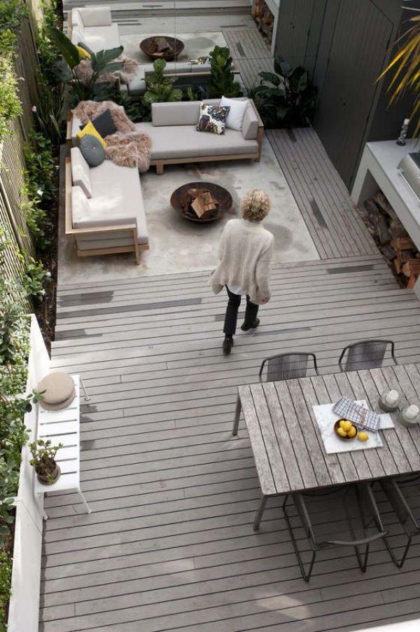 backyard wooden furniture