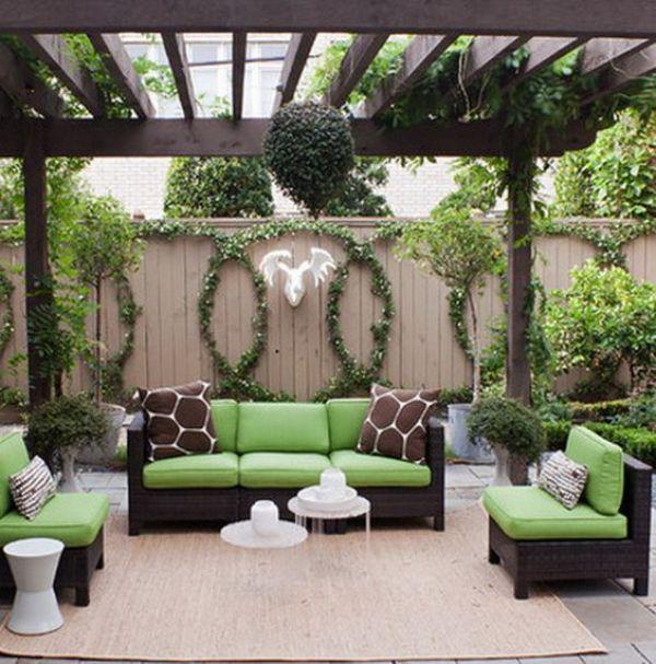 creative backyard seating ideas