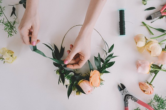 DIY Flower Wedding Bouquet
