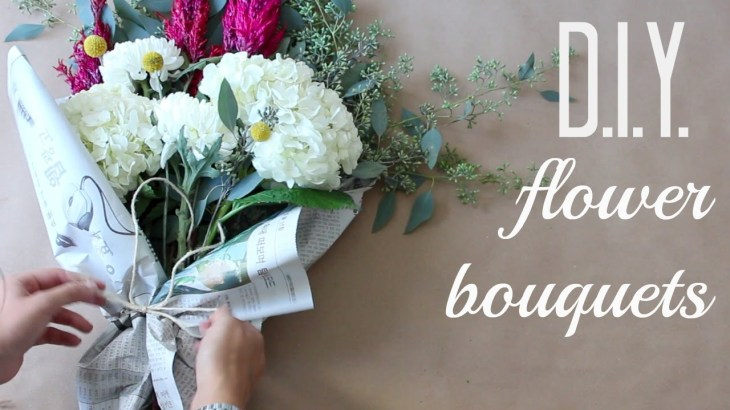Make DIY Flower Bouquet