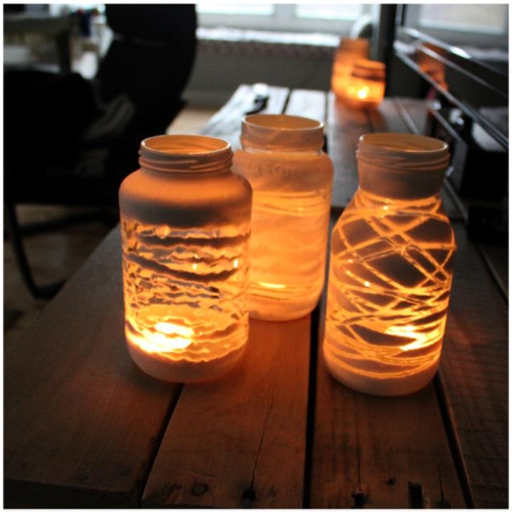 Yarn-Wrapped-Light-Jars