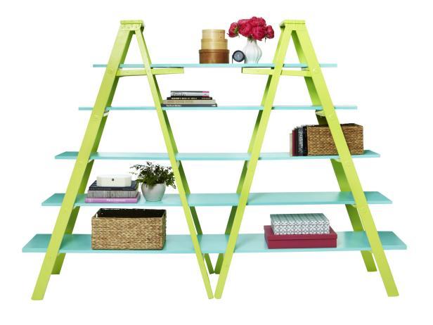 DIY Ladders Bookshelf