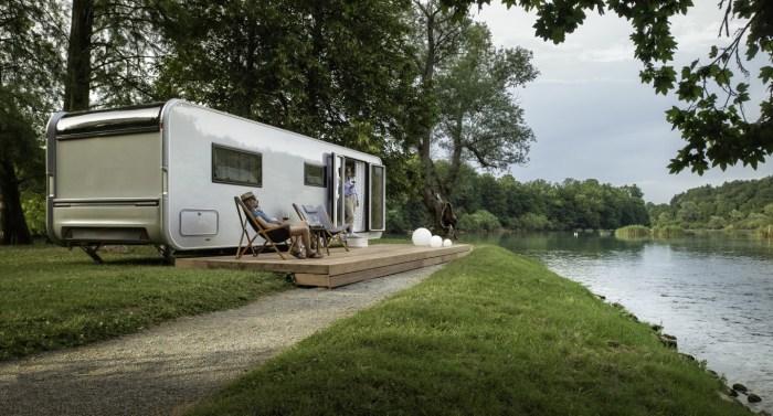 ultramodern caravan
