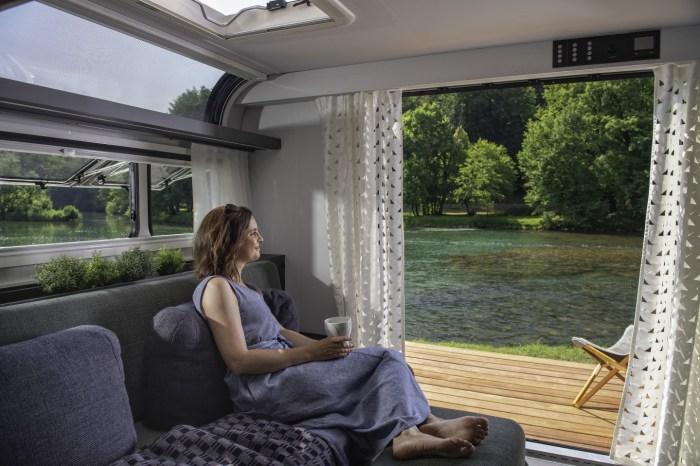 modern caravan models