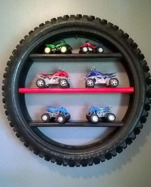old tire decorations